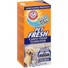 ARM & HAMMER Plus OxiClean Dirt Fighters Carpet Odor Eliminator- Pet Fresh