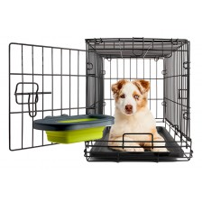 DEXAS Collapsible Kennel Bowl - миска складная