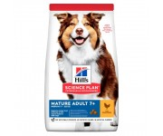 Hill's Science Plan Canine Mature Adult 7+ Medium Breed Chicken (с курицей)