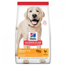 Сухой корм для собак склонных к ожирению Hill's SP Canine Adult Light Large Breed