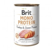 Brit Mono Protein Turkey and Sweet Potato - консервы для собак / с индейкой и ботатом